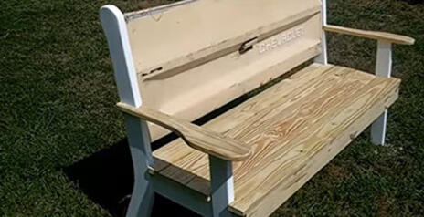 Read Article on Know How To Make a Tailgate Bench