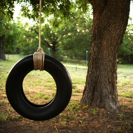 Read Article on Know How to build a Tire Swing